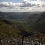 Cwm Cerist from slate quarry above Bwlch yr Oerddrws 3 miles from Dinas Mawddwy