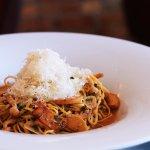 CAPELLINI Mushrooms, Soft Poached Egg, Fresh Tarragon, Pecorino