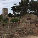 vue du chateau de l'extérieur