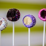 Cake pops - party, death by chocolate, lemon, red velvet. We dare you to try just one!