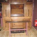 The organ in the attic church
