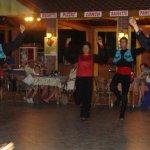 Folk dancers at the Turkish night