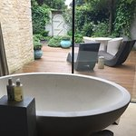The Bath in the Secret Garden Room