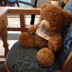 Each table gets a teddy bear!