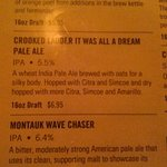 Wave Catcher IPA , Montauk brewing, was my Fav