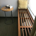 Nice Teak Bench Covering A/C Unit -- Nice ZenTouch