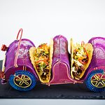 Desi tacos - Drive in a colorful toy car