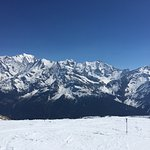 Mont Blanc from les Contamines