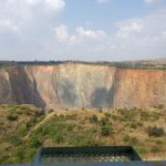 Cullinan Diamond Mine Foto
