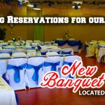 Banquet room - up to 120 guests.