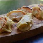 Potstickers with pork and shrimp