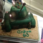 My cake, tanks a lot!