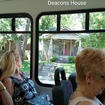 Deacons house from the bus.