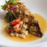 Gulf Fish with White Bean Salad
