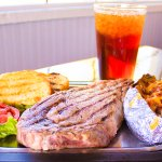 Ribeye Steak Dinner #steak #ribeye