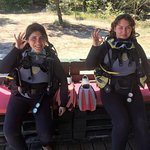 Before the dive!