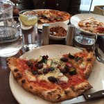 Pizza and pasta at Sartori