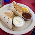 Jody's Diner breakfast buritto