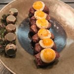 Steak & Eggs Sushi