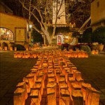 Annual Festival of the Lights- Lighting of  6000 Luminaria