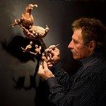 Ken Rowe Sculpting - can be seen in the Ken Rowe Gallery