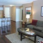 Furnished Kitchen & Living Room