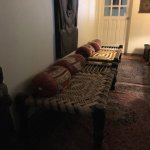 Authentic Indian chaar-pai (4 legged bed). Cannot get more authentic than this!