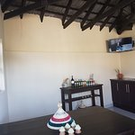 Our new resident guests bar and common tv room