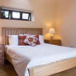 Barn Apartment - double bedroom, wetroom, and area with twin beds (2 extra beds if required)