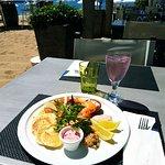 délicieuse assiette nordique et sa trilogie de saumon