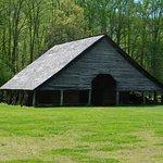 The main barn on the farm
