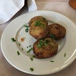 Fried zucchini balls (should be 5 balls :-) )