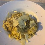 White truflle and crab spaghetti