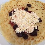 Cottage cheese crepes!