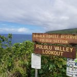 Photo de Pololu Valley Lookout