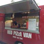 Red Pizza Van