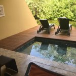 Zen King room with plunge pool