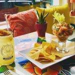 Local Conch & Shrimp Ceviche!