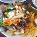Chicken Souvlaki Platter - Absolutely Delicious!