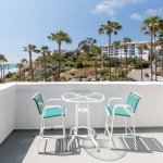 San Clemente Cove Patio with Beach Scenery