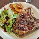 (Entrecote) Steak was a disappointment at a cost of $50 CAD
