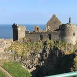 Beautiful Dunluce Castl.e