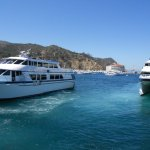 Catalina Express to the right