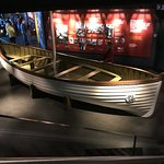 A replica of one of the lifeboats.