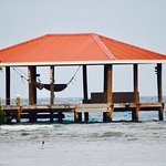 The South Dock w/hammocks - perfect place to take a nap!