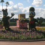 Daisy and Donald welcome to World Showcase