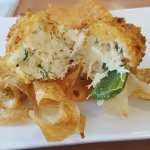 Stuffed Jalapeños, Pickled Jalapeños stuffed with crab meat