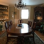 Beautiful dining room to enjoy the breakfast prepared and presented with such care and detail.
