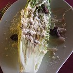 Half an order of Grilled Caesar Salad!
