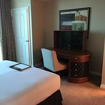 Room was very nice!!  Suite was large with 2 bathrooms, large living area/kitchen, and large bed
